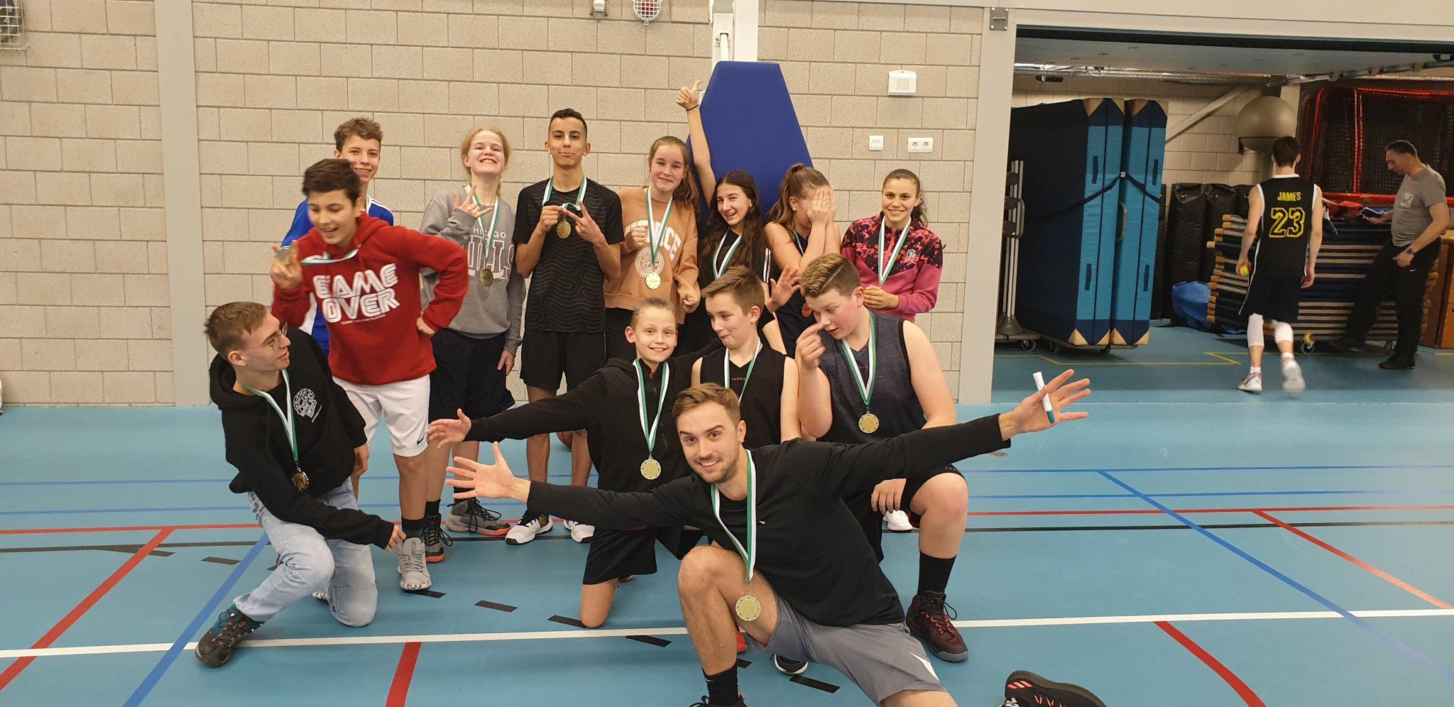 Huldiging U14 kampioenen!